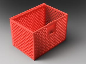 Hinged & Latticed Storage Box (optimized for 0.4mm nozzle)