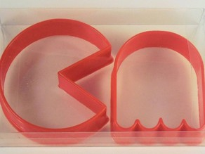 Pacman And Ghost Cookie Cutter