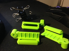 BQ Prusa I3 glass clips