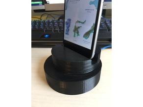 DiscStand for iPhone