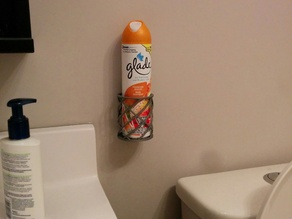 Bathroom Spray bottle holder