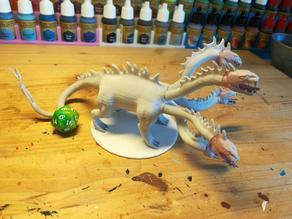 Hydra - D&D miniature