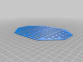 Scifi space ship floor hold grate