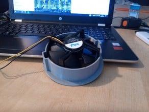 Intel processor fan case