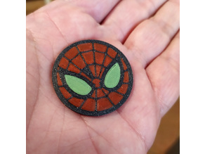 Spiderman coin (ammo) for shooting gloves