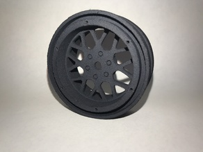 Beadlock Wheel 1.9 for SCX10 XD Style