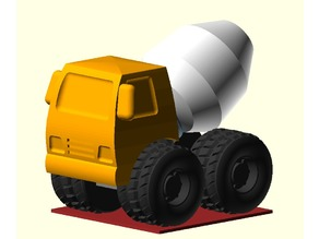 Toy Concrete Mixer Truck