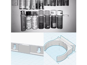 Modular wall mount system for cans