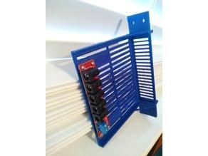 6 inch rack 5 port PDU