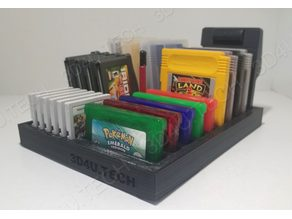 Gameboy Game Holder & Storage (Includes GB/GBA/3DS)