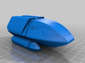 Star Trek - The Next Generation Type 6 Shuttlecraft