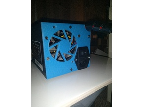 Wanhao i3 Control Box backplate / rear cover for 70mm fan
