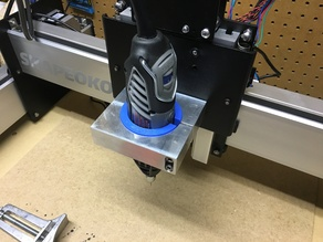 Dremel 4000 adapter for Shapeoko 3