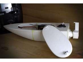 Smal RC Jet boat