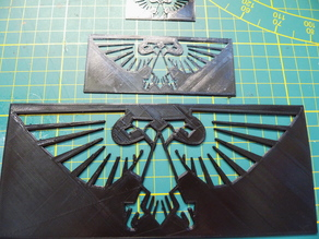 Imperial Aquila - Two headed eagle - shape for airbrush/painting