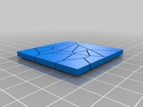 Crackled Floor Plate (20 different Variants)