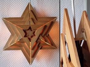 Holder for IKEA christmas star