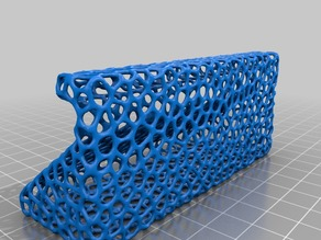 Voronoi Business Card Holder