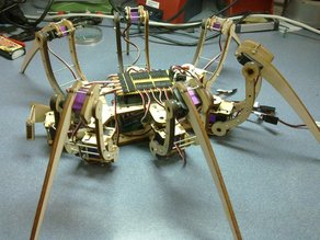 SpiderBot (Hexapod)