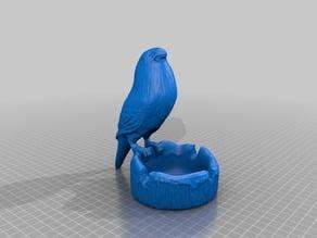 Asbak Burung- Ashtray bird