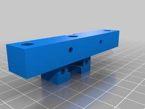 E3D v6/Lite6 mount for CTC/Flashforge/Makerbot Replicator (Single)