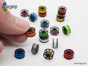 Miniature Filament Spool Props