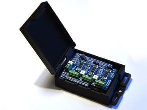 Shapeoko 2 enclosure for electronics