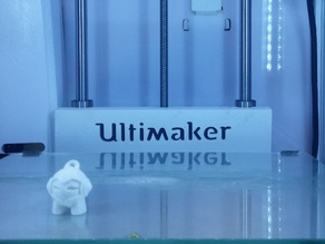 Ultimaker 2 Print Table Back Cover