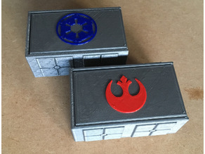 X-Wing damage deck box