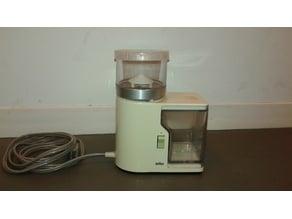 Braun coffee grinder lid KMM1CN