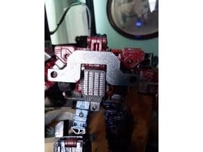 Weapons rack for Classics series Optimus Prime