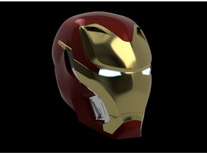 Iron Man Mark 50 Helmet Avengers Infinity War *UPDATED*