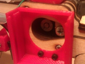 Printrbot Simple V2 40mm slide out Extruder Fan - Anti filament Jamming