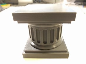 Easy to print pedestal