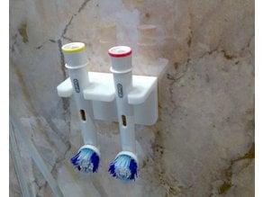 Oral B toothbrush wall holder remix