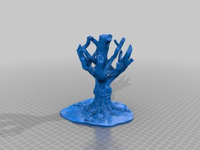 Song of Ice and Fire Terrain Accessories: Forest and Weirwood Tree