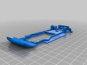 Slot car chassis for SUPERSLOT/SCALEXTRIC MG6 BTCC 1:32