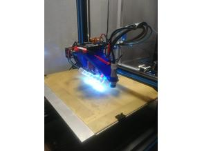 LED Hinged Light Bar for Fang Mod and 40mm Fans