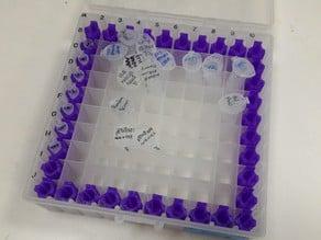 PCR tube freezerbox holder