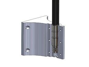 Rak glas fiber antenna wall bracket