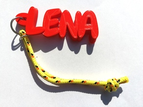 """LENA"" keyring"