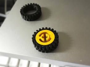 LEGO® compatible tire 3483 replacement