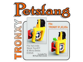 Petsfang for TRONXY X5s, X3, X1 Stock or E3Dv6 Hot End