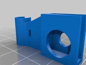 Anycubic i3 Mega Hotbed Cable Holder for 4mm Baseplate