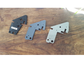 Anet A6 Left upper bracket for higher Z axis