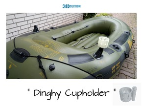 Dinghy Cupholder (Sevylor Schlauchboot  Version)