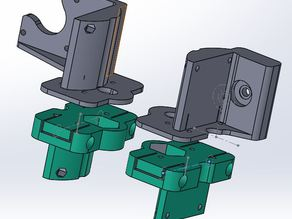Bind-Reducing ACME Pillow Block X-Ends (Fully Customisable in SolidWorks_