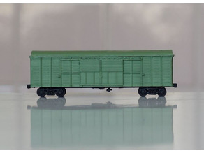 SZHD boxcar for paper 1:200