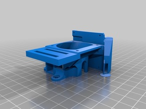 Anet E10 - Improved Fan Shroud with Tronxy XY-08n mounting