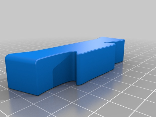 Modular Furniture To Wall Spacer By Nzalog Thingiverse